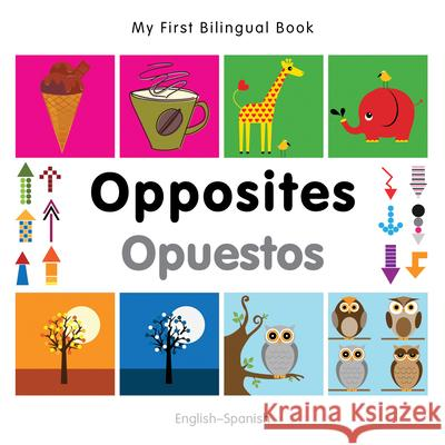 My First Bilingual Book-Opposites (English-Spanish)   9781840597448