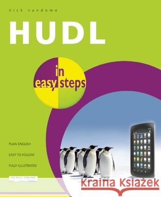 Hudl in Easy Steps Nick Vandome 9781840786316 In Easy Steps