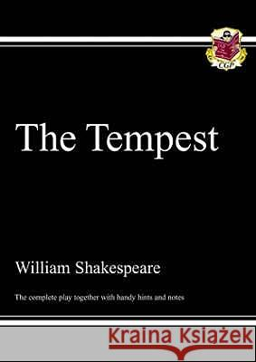 KS3 English Shakespeare The Tempest Complete Play (with notes) : The Complete Play Richard Parsons 9781841465302
