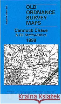 Cannock Chase and SE Staffordshire 1898 : One Inch Map 154  9781841512419