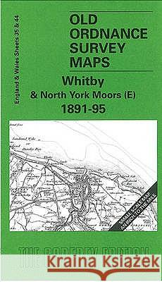 Whitby and North York Moors (E) 1891-95 : One Inch Sheet 035  9781841512587