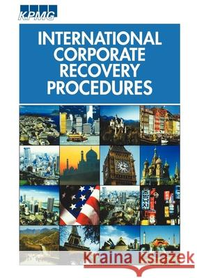 International Corporate Recovery Procedures Mike Wheeler Roger Oldfield 9781841742663