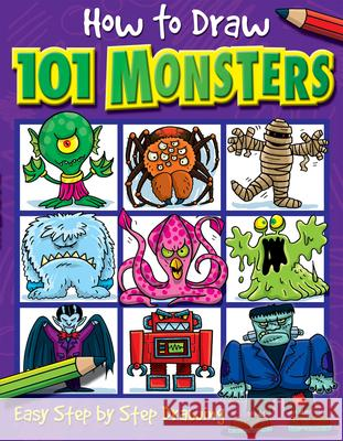 How to Draw 101 Monsters Dan Green 9781842297421