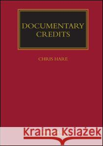 Documentary Credits Christopher Hare 9781843114284