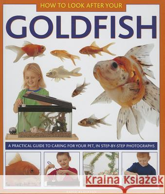 How to Look After Your Goldfish: A Practical Guide to Caring for Your Pet, in Step-By-Step Photographs David Alderton 9781843227335
