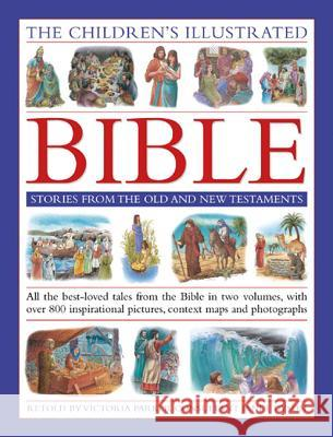 The Children's Illustrated Bible: Stories from the Old and New Testaments: All the Best-Loved Tales from the Bible in Two Volumes, with Over 800 Inspi   9781843229971