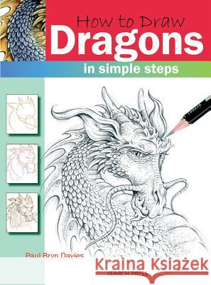How to Draw: Dragons in Simple Steps Paul Bryn Davies 9781844483129