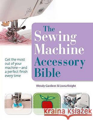Sewing Machine Accessory Bible A Cookie 9781844486878 0