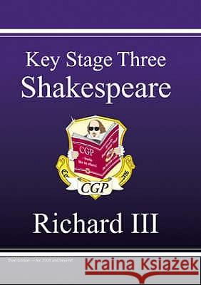 KS3 English Shakespeare Test Guide - Richard III Richard Parsons 9781847620200