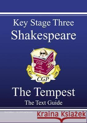 KS3 English Shakespeare Text Guide - The Tempest Richard Parsons 9781847621511