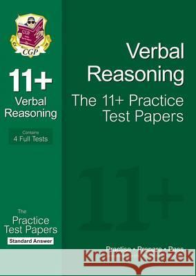 11+ Verbal Reasoning Practice Papers: Standard Answers (for GL & Other Test Providers) Richard Parsons 9781847628220