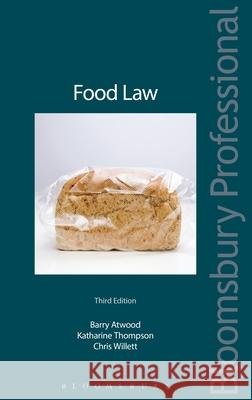 Food Law Barry Atwood 9781847660954
