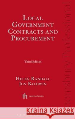 Local Government Contracts and Procurement: Third Edition Helen Randall 9781847666970