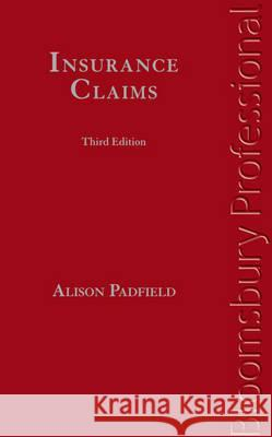 Insurance Claims: Third Edition  9781847668912