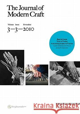 Journal of Modern Craft Tanya Harrod 9781847886729
