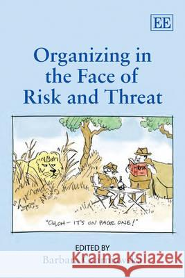 Organizing in the Face of Risk and Threat  9781848447998