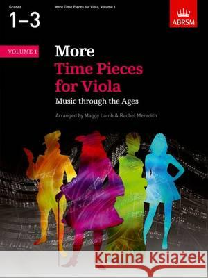 More Time Pieces for Viola Music Through the Ages  9781848497443
