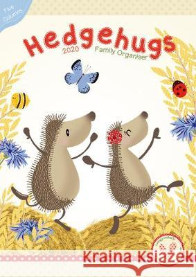 Hedgehugs A3 Organiser 2020 Calendar Lucy Tapper   9781848864726 Maverick Arts Publishing