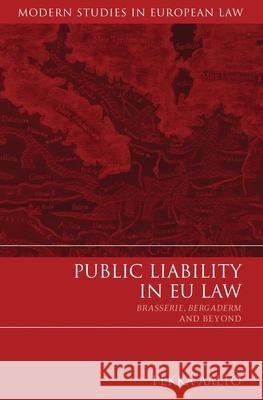 Public Liability in Eu Law  9781849461337