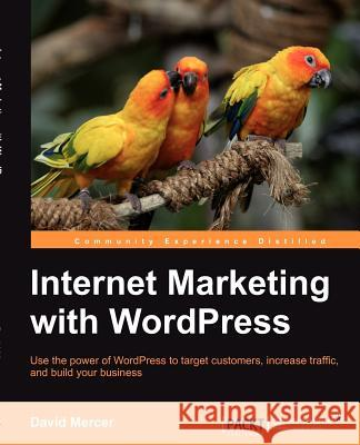 Internet Marketing with Wordpress Mercer, David 9781849516747