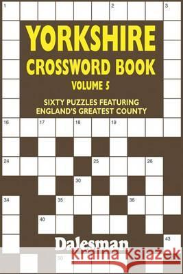 YORKSHIRE CROSSWORD BOOK  9781855682757
