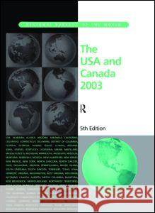 The USA and Canada 2003 Europa Publications 9781857431513