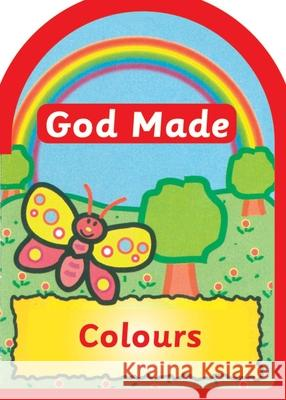 God made Colours Jane Taylor 9781857922912