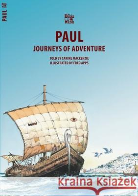 Paul: Journeys of Adventure Carine Mackenzie 9781857924657