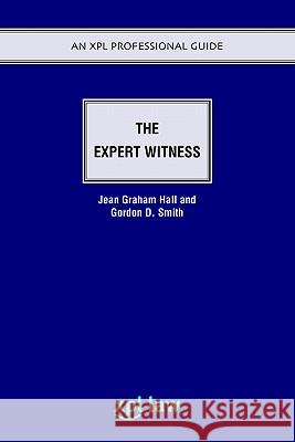 The Expert Witness Jean Graham-Hall Gordon Smith 9781858113746