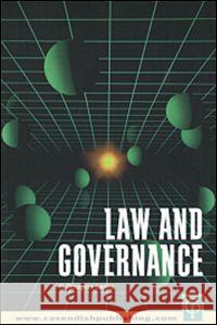 Law and Governance N. Douglas Lewis N. Douglas Lewis  9781859415474
