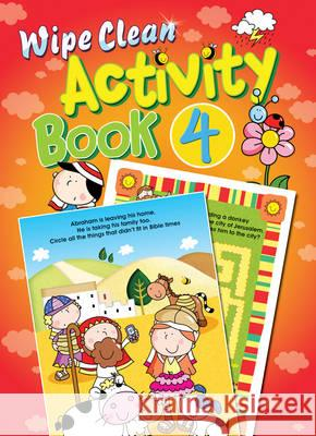 Wipe Clean Activity Book 4 Juliet David Marie Allen 9781859852903