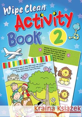 Wipe Clean Activity, Book 2 Juliet David Marie Allen 9781859858448