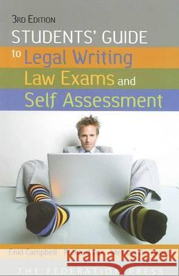 Students' Guide to Legal Writing and Law Exams  9781862877559