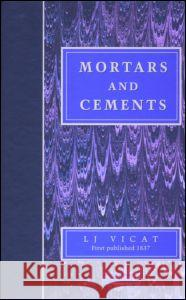 Mortars and Cements: Facsimile   9781873394267