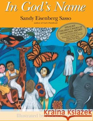 In God's Name Sandy Eisenberg Sasso Phoebe Stone 9781879045262 Jewish Lights Publishing