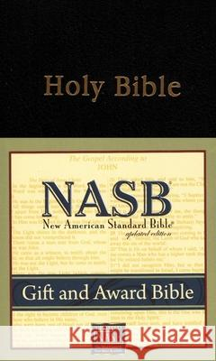 Gift and Award Bible-NASB Foundation Publication Inc 9781885217714