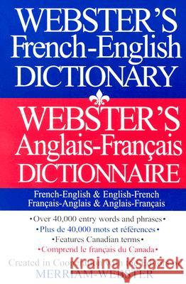 Webster's French-English Dictionary Federal Street Press 9781892859792