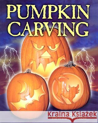 Pumpkin Carving Ghost House Books 9781894877268