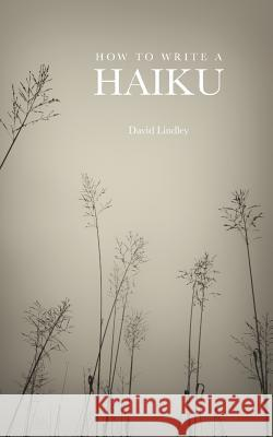 How to Write a Haiku David Lindley 9781907100055