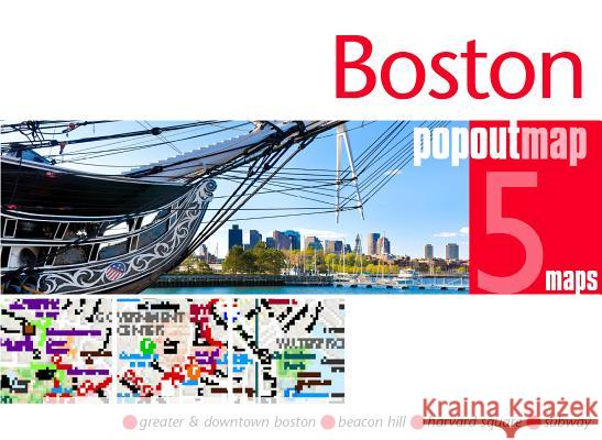 Boston Popout Map Popout Maps 9781910218624