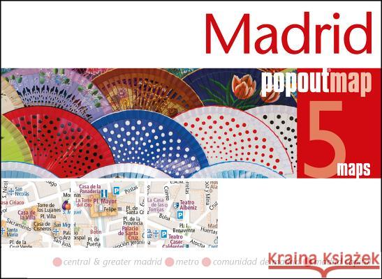 PopOut Map Madrid Double  9781910218716