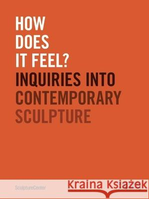 How Does It Feel?: Inquiries Into Contemporary Sculpture Mary Ceruti Ruba Katrib 9781910433683