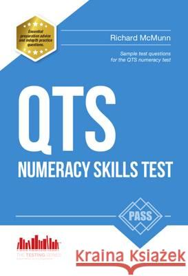 Pass QTS Numeracy Test Questions: The Complete Guide to Passing the QTS Numerical Tests How2Become   9781910602348 How2become Ltd