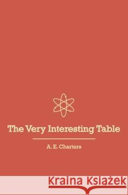 A Very Interesting Table Adam Charters   9781911596974