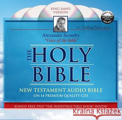 Scourby New Testament-KJV [With DVD] - audiobook Alexander Scourby 9781930034341
