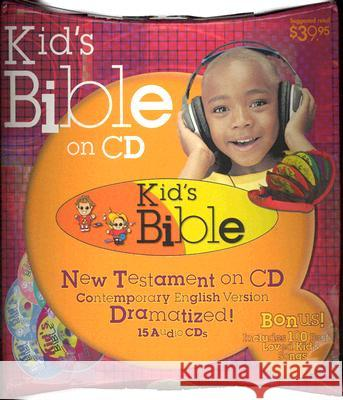 Kid's New Testament-CEV - audiobook Casscom Media 9781930034662