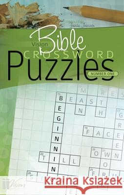 Vision Bible Crossword Puzzles, Number One Frieda Thiessen 9781932676822