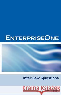 Oracle Jde / Enterpriseone Interview Questions, Answers, and Explanations : Enterpriseone Certification Review Terry Sanchez-Clark (Www Oracookbook Com) Oracookboo 9781933804385 Equity Press