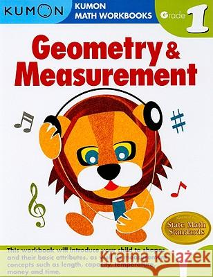 Geometry & Measurement, Grade 1 Kumon 9781934968178