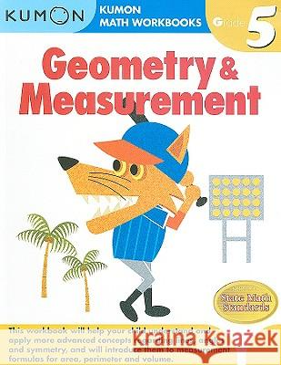 Geometry & Measurement, Grade 5 Kumon 9781934968666